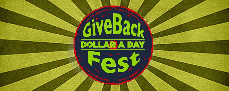 Give Back Fest By Dollar A Day